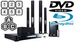 Region Free Home Theater Systems