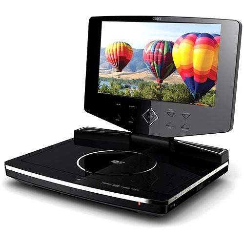 Coby 9 Portable Region Free Dvd Player With Swivel Screen Multi