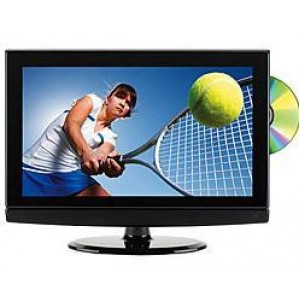"INTERNATIONAL 15"" Multi System TV, Region Free DVD Combination"