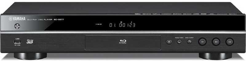 yamaha bd s677 region free dvd blu ray player with 3d. Black Bedroom Furniture Sets. Home Design Ideas