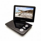 "International 9"" Swivel Portable Region Free DVD Player"