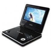 "Coby 7"" DV-706 Portable Region Free DVD Player Multi-Region Code Free"