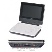 Toshiba SDP-75S Portable Region Free DVD Player