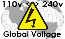This Unit is Worldwide Voltage 110v to 240v