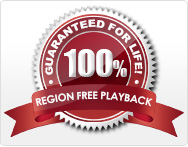 Lifetime Region Free Playback - Guaranteed!