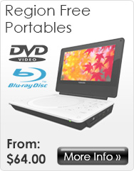 Region Free Portable DVD and Blu-ray Players